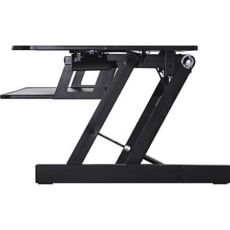 Lorell® Adjustable Desk Riser Plus, Black