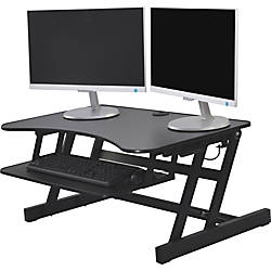 Lorell Adjustable Desk Riser Plus 40
