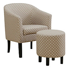 Monarch Specialties Selena Accent Chair With