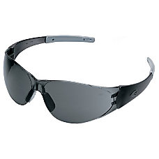 Crews Checkmate 2 Safety Glasses SmokeSilver