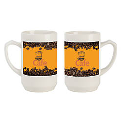 Thumb Grip Ceramic Mug 12 Oz