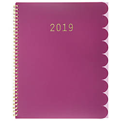 Cambridge Ruffle WeeklyMonthly Planner 8 12