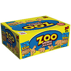 Austin Zoo Animal Crackers 2 Oz
