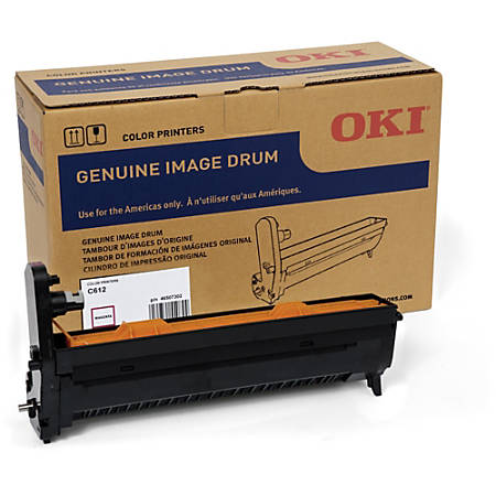 Oki 30K Magenta Image Drum for C612 - 30000 - 1 Each