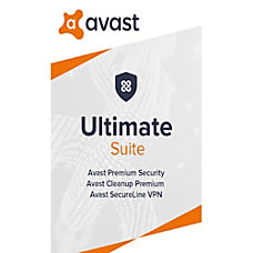 Avast Ultimate Security 2020 1 PC