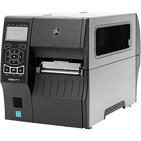 Zebra ZT410 Direct Thermal/Thermal Transfer Printer - Monochrome - Desktop - Label Print