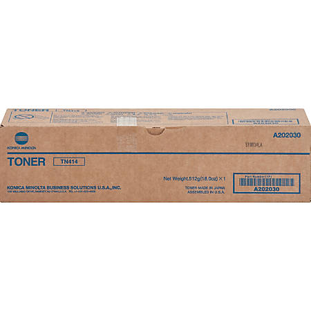 Konica Minolta Original Toner Cartridge - Laser - 25000 Pages - Black - 1 Each