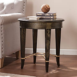 Southern Enterprises Cheswick End Table Round