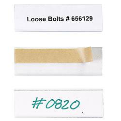 Open Edge Plastic Label Holder 1