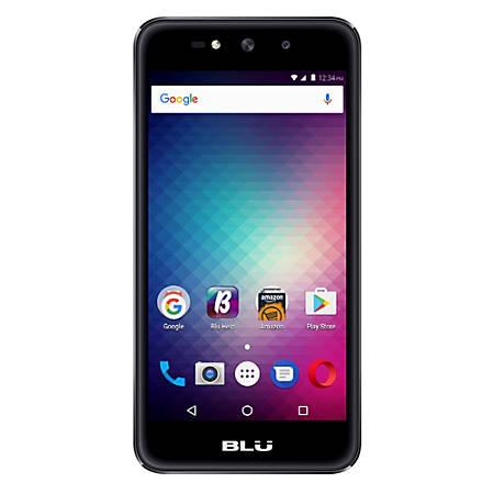 BLU Grand X G090Q Cell Phone, Black, PBN201317