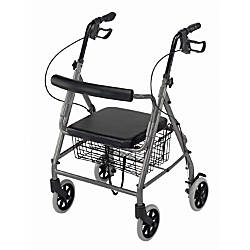 DMI Adjustable Aluminum Hemi Rollator With