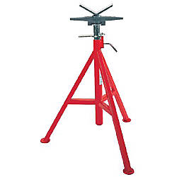 V Head High Pipe Stand