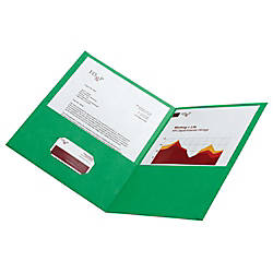 Office Depot Brand Leatherette Twin Pocket