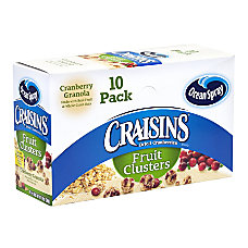 Ocean Spray Craisins Fruit Clusters Cranberry