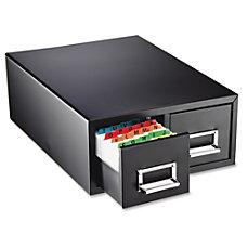 Major Metalfab 16 Card File Box