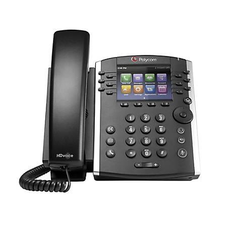 Polycom® VVX® 401 12-Line VoIP Phone, PY-2200-48400-025
