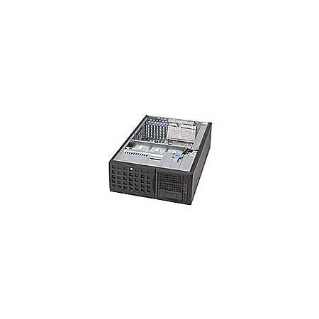 Supermicro SC745TQ-800B Chassis - Rack-mountable, Tower - Black