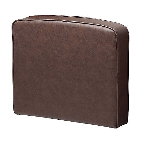 Boss Office Products Sectional Seating Sofa, Right Arm Attachment, Bomber Brown