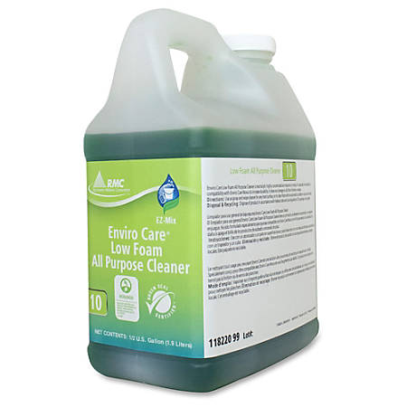 RMC Enviro Care All-purpose Cleaner - Concentrate Liquid - 0.50 gal (64.25 fl oz) - 4 / Carton - Green