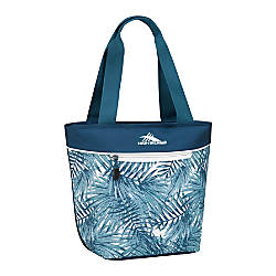 High Sierra Lunch Tote PalmsLagoonWhite