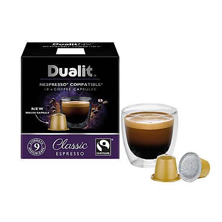 Dualit® NX Classic Nespresso Capsules, Pack Of 60 Capsules