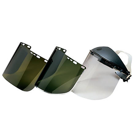 """Jackson Safety F20 Unbound Face Shield, 15 1/2"""" x 8"""", Clear"""