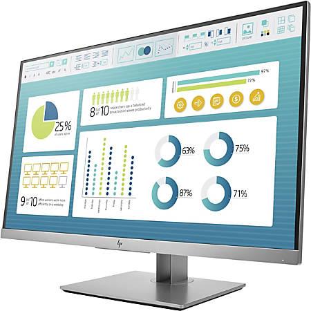 "HP Business E273 27"" Full HD LED LCD Monitor - 16:9 - 1920 x 1080 - 250 Nit - 5 ms - HDMI - VGA - DisplayPort"
