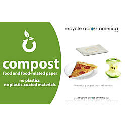 Recycle Across America Compost Standardized Labels