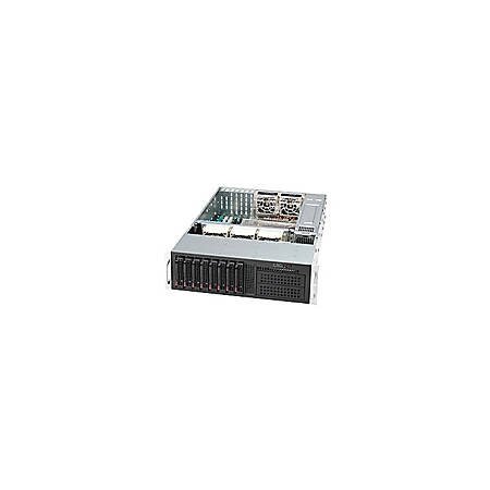 Supermicro SC-835TQ-R800B Chassis - Rack-mountable - Black