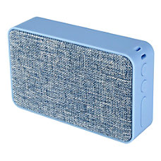 Ativa Fabric Covered Wireless Speaker Blue