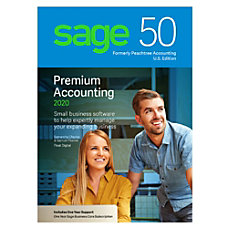 SAGE 50 Premium Accounting 2020 For