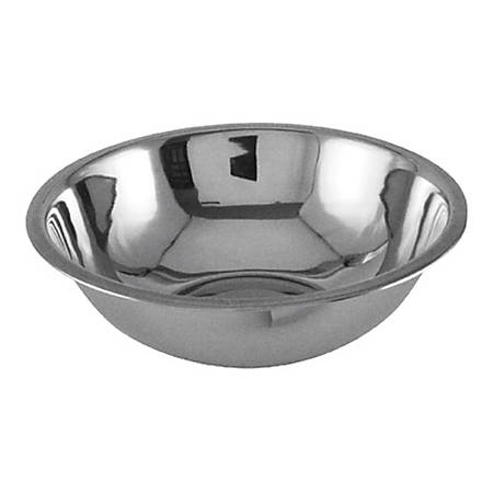 Update International Stainless-Steel Mixing Bowl, 3 Qt, Silver