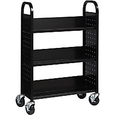 Lorell 3 Shelf Single Sided Steel