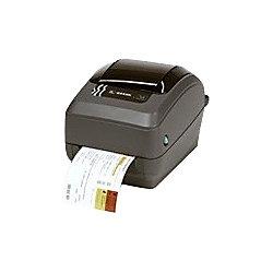 zebra gx430t thermal transfer printer monochrome desktop label print