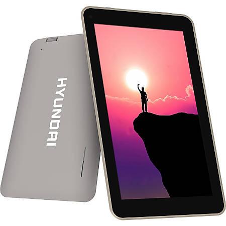 "Hyundai 7"" Koral 7W2 Tablet 1024*600 IPS, Wifi, 1GB, 8GB, Camera 2/2MP, Grey"