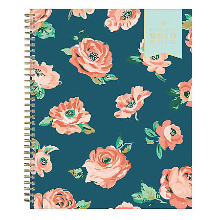 "Day Designer® for Blue Sky Weekly/Monthly Planner, 11"" x 8 1/2"", Reese, January to December 2019"