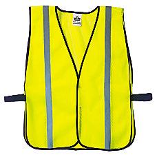 8020HL Lime Non Certified Standard Vest