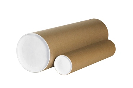 3c226290ece Office Depot Brand Heavy Duty Kraft Mailing Tubes 5 x 36 80percent Recycled  Kraft Pack Of 15 by Office Depot   OfficeMax