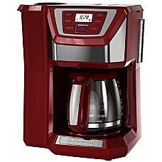 Black Decker 12 Cup Mill Brew