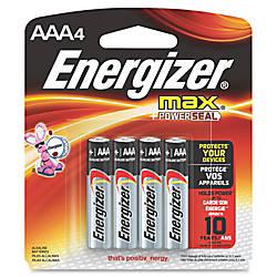 Energizer Max Alkaline AAA Batteries AAA