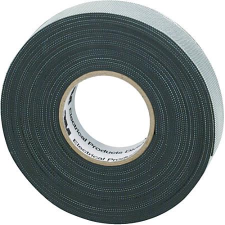 "3M™ 2155 Rubber Splicing Electrical Tape, 1"" Core, 1.5"" x 22', Black, Case Of 45"