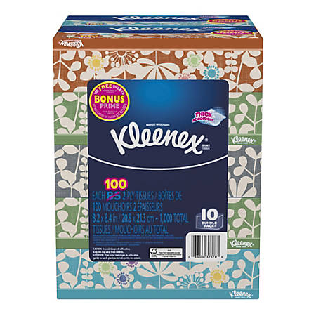 Kleenex® Everyday 2-Ply Facial Tissues