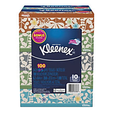 Kleenex Everyday 2 Ply Facial Tissues