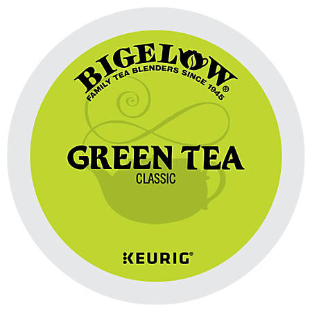 Bigelow® Green Tea K-Cups®, 0.40 Oz, Pack Of 12