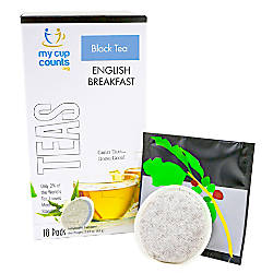 My Cup Counts Tea Pods English