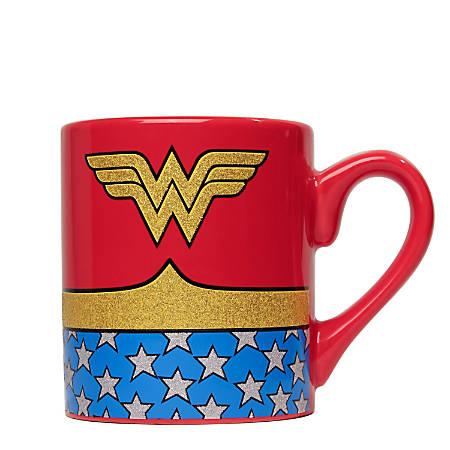 Silver Buffalo DC Comics Mug, Wonder Woman, 14 Oz