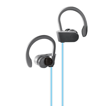Bytech Hook Light-Up Bluetooth® Earbuds, Black, BCAUBE113GY