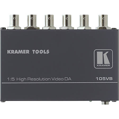 Kramer 105VB Video Splitter - 1 x 5
