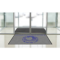 Indoor Logo Nylon Floor Mat Landscape