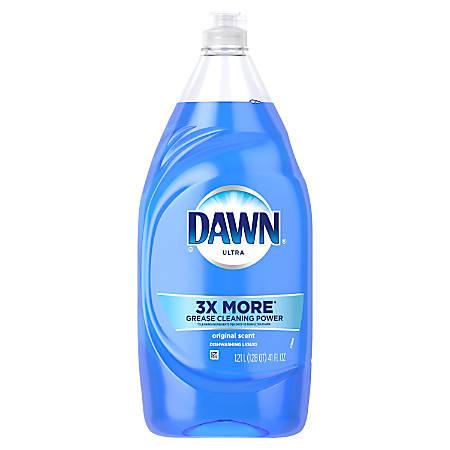 Dawn® Ultra Dishwasher Soap, Original Scent, 41 Oz, Blue